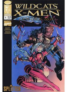 WildC.A.T.S/X-Men: The Golden Age 1 | Comic-Crossover von Splitter | http://www.cyram-entertainment.de/shop/products/Buecher-Comics-Magazine/Comics/WILDCATS/WildCATS-X-Men-The-Golden-Age-1.html