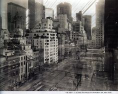 Michael Wesely (photographer). Museum of Modern Art, New York.