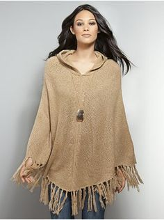 Ponchos & Capes are back in style for Fall 2011