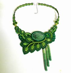 Одноклассники Textile Jewelry, Boho Jewelry, Beaded Jewelry, Jewelery, Beaded Necklaces, Soutache Necklace, Tassel Earrings, Crochet Necklace, Polymer Clay Charms