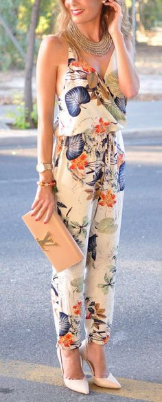 50 Sleek and Sexy Examples Of JumpSuit Trend Successfully Worn