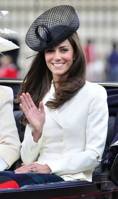 3bd70ebee4d Love the back fascinator! Princess Kate