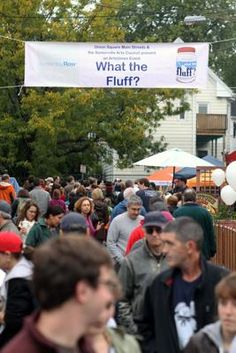 Somerville Fluff Festival, 2012.  I was born a few blocks from where Fluff was invented.