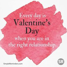 Every day is Valentin's Day... #simplereminders #love #valentines #valentinesday #beautiful #instadaily #instagood #relationship #couples #quotes #quoteoftheday #holidays #girlfriend #boyfriends #lover #beroyal @bryantmcgill @jenniyoung_