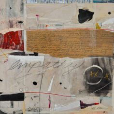 Multi Media Collage Painting | Empathy | by Tina Klaus