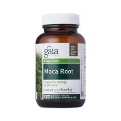 Shop Gaia Herbs Maca Root at wholesale price only at ThriveMarket.com