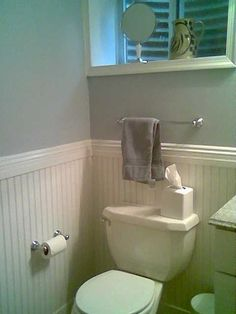 Merveilleux Wainscoting Ideas Bathroom | Bathroom With Wainscoting | Ideas For The Home  #WainscotingStairwell #FauxWainscotingIdeas