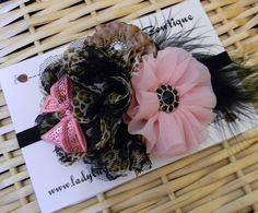 Flower Cluster Headband  Vintage Style on a by LadybugBowtique, $9.99