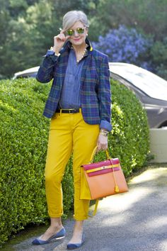 power of plaid   Style at a certain age