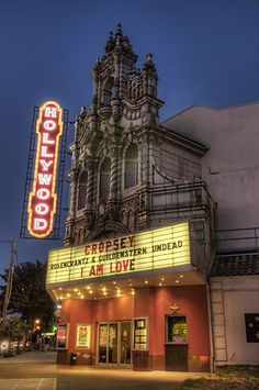 Hollywood Theatre, about 20 blocks away--I could walk it in good weather. I went to Susan Orleans' book reading and silent movie showing here for her book Rin Tin Tin: The Life and Legend.