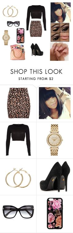 """""""Untitled #39"""" by jewelz0383 ❤ liked on Polyvore featuring Pull&Bear, River Island, Michael Kors, Pour La Victoire and Tom Ford"""