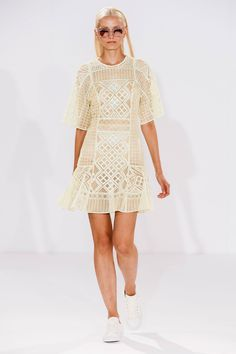 Temperley London at London Fashion Week Spring 2015 - Runway Photos