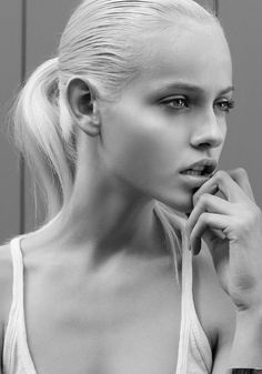 This girl... can we all just be her now please? Face of YSL Beauty Ginta Lapina