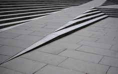 Creative Ramp Stairs For The Able and Disable. Blackfriars Road | London, England