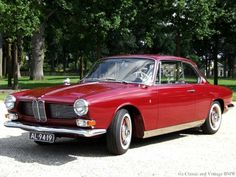 BMW 3200CS Bertone Coupe: 3.2-liter, eight-cylinder (V8), duel-carbureted engine (two Zenith 36 NDIX) with 160 hp (118 kW) @ 5,600 rpm - 240 Nm / 177 ft.lb of torque @ 3600 rpm - 0 to100 km/h (62 mph) in 14 seconds with a top speed of 124 mph (200 km/h) - 603 units were produced between 1962 and 1965 - More info ~~~> http://classicandvintagebmw.tumblr.com/3200cs