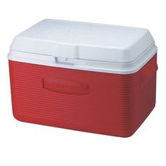 Rubbermaid 2a2002modrd Victory Cooler, 34-quart, Red >>> To view further for this item, visit the image link.