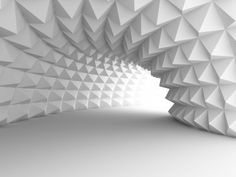 Abstract Architecture Tunnel #89942519 #wf158 - Fototapety 3D - Fototapety ścienne - Fototapeta tunele i korytarze | Fototapety przestrzenne | LemonRoom