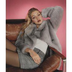 Der Kälte trotzen: Gigi Hadid setzt auf einen Mantel aus Fake Fur