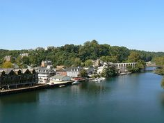 Old Occoquan, Virginia - charming little town on the Occoquan River in Prince William County.