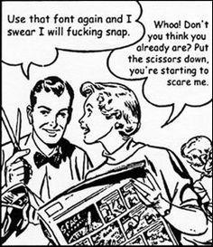 Comic Sans, Ji, Ji, Ho Ho, Gráficos, Blog, Wacky N Witty, Ban Comic, Comic Sans, Stupid Fonts
