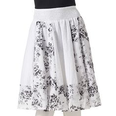 Joe Benbasset floral skirt | Kohls