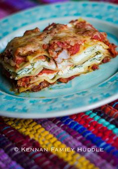 ... - Lasagna on Pinterest | Lasagna, Lasagna Recipes and Baked Lasagna