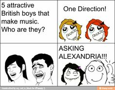 Asking Alexandria>>1D=British/IRISH!! My point made Asking Alexandria Band Quotes, Band Memes, Cameron Liddell, Emo Bands, Music Bands, Rock Bands, Danny Worsnop, Asking Alexandria, Screamo