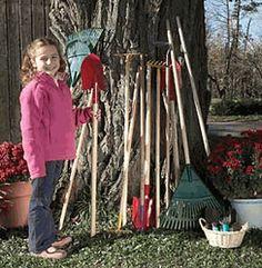 9 piece kids garden tool set