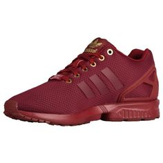 Adidas Flux Maroon And Gold