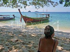 Sandstrand in Thailand