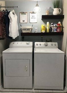 This beautiful stylish laundry will make you want to do the washing 29
