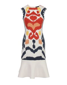 The Ikat Peplum Dress