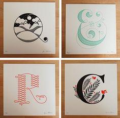 letterpress type