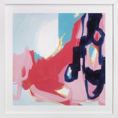 """Opus"" - Art Print by Katie Craig in beautiful frame options and a variety of sizes."