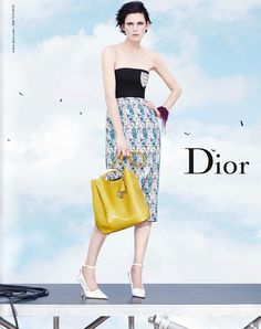 Stella Tennant for Dior SS 2014 ad campaign lensed by Willy Vanderperre