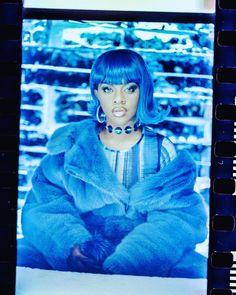 Lil Kim 90s, Kimberly Jones, Lil Boosie, Baby Blue Aesthetic, Nostalgia, Images Esthétiques, Lil Pump, Tyga, Lil Wayne