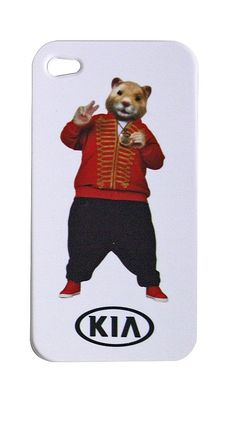 Red Hamster iPhone Case
