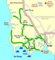 Tourist map of Koh Chang Thailand i loved it there zsia