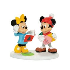 Mickey & Minnie Card Exchange - 4057264 department 56, Disney Village. Introduced January 2017.