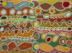 18 PEINTRES ABORIGÈNES DU DÉSERT AUSTRALIEN | Association Mouvement Art Contemporain Art Mini Toile, Art Actuel, Kunst Der Aborigines, Painted Driftwood, Aboriginal Culture, Mini Canvas Art, Tribal Patterns, Indigenous Art, Naive Art