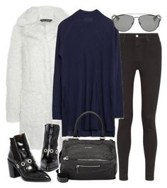 """""""Untitled #11061"""" by minimalmanhattan ❤ liked on Polyvore featuring AG Adriano Goldschmied, Zara, Givenchy, ASOS and Christian Dior"""
