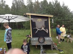 82 Mobile saunas of Finland – Ruusis Mobile Sauna, Building A Sauna, Small Trailer, Land Use, Number Two, Heating Systems, Woodstock, Finland, Saunas