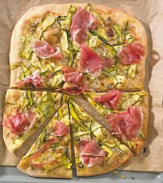 Gorgonzola-Zucchini-Pizza - [ESSEN UND TRINKEN]
