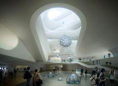UN Studio, Ben van Berkel, Natinal Art Museum of China, NAMOC, China.