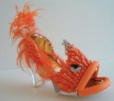 shoe as art | You also need to check out the Virtual Shoe Museum and the Bata Shoe ...