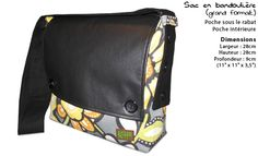 KaHo Creations - Sacs et accessoires - Sacoches et sacs a main Quebec, Messenger Bag, Creations, Purse, Saddle Bags, Bags, Accessories, Quebec City
