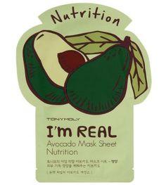 Tonymoly - Maschera I'm Real - Avocado