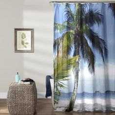 Lush Decor carries the very popular and unique Beach Palm Tree Shower Curtain. Visit our website and see why the Beach Palm Tree Shower Curtain is among our top sellers! Lush, Tree Shower Curtains, Tropical Paradise, Wedding Gift Registry, Bed Design, Home Textile, Beautiful Beaches, Bedding Shop, Palm Trees