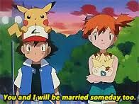 Pokeshipping hint. Misty really liked Ash