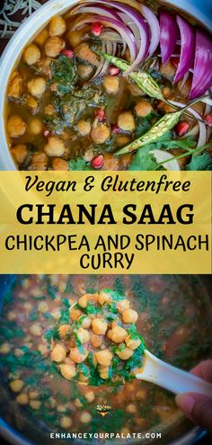Try this healthy, easy Indian curry recipe. Its gluten free and vegan and is of course delicious! Try this easy, healthy vegan recipe tonight! Vegetarian Curry, Vegan Curry, Vegetarian Recipes Easy, Curry Recipes, Vegetarian Platter, Vegetarian Appetizers, Chickpea Recipes, Vegetarian Cooking, Easy Indian Curries